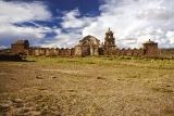 Opuštěný kostel na Altiplanu; abandoned church of Altiplano