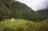 cesta Andami...; trekking through the Ands