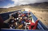 cestování po Altiplanu; travelling around the Altiplano