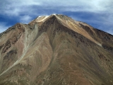 vrchol Licancaburu, summit of Licancabur, SW Bolivia