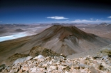 pohled na krater sopky Juricis; view of the drater of volcano Juricis, SW Bolivia