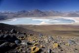 laguny po Licancaburem; SW Bolivia